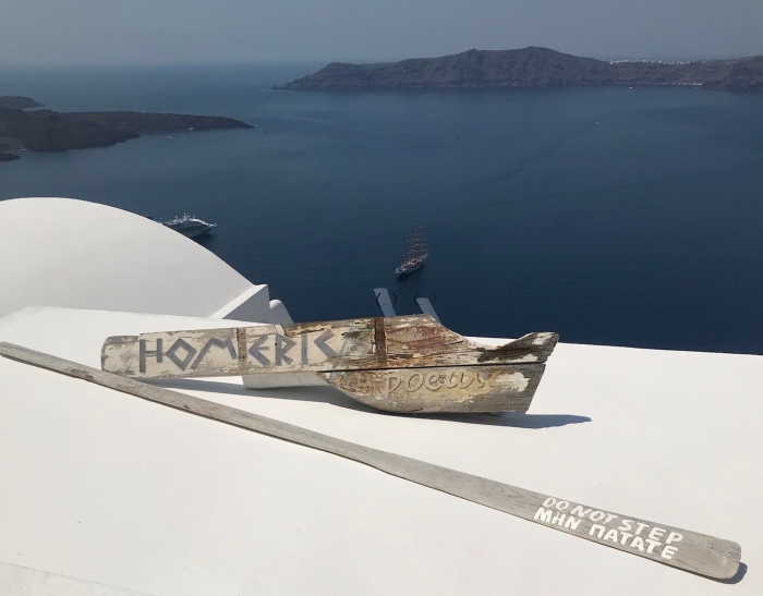 Homeric Poems, Santorini