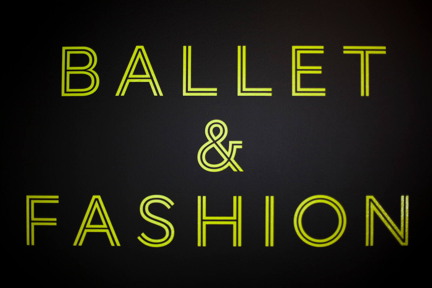 NGV Ballet and Fashion